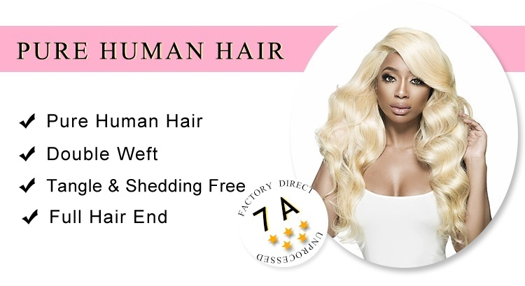 Virgin Hair 613 Body Wave Hair Bundles