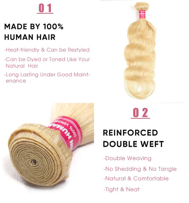 Body Wave 100 Human Hair Weave