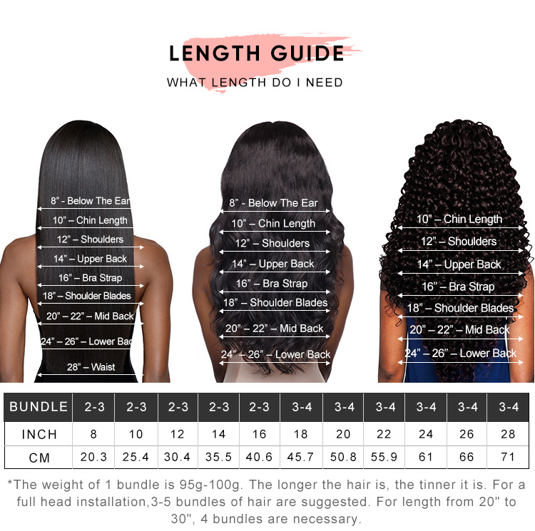 Virgin Hair Bundles With 6x6 Lace Closure